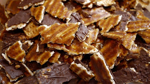This stuff is crack it's really just basically CRACK. Recipe here.