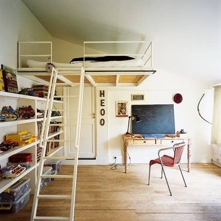 Doorway Loft Bed This Is A Perfect Way To Use Slanted Ceiling But If You Can Clear