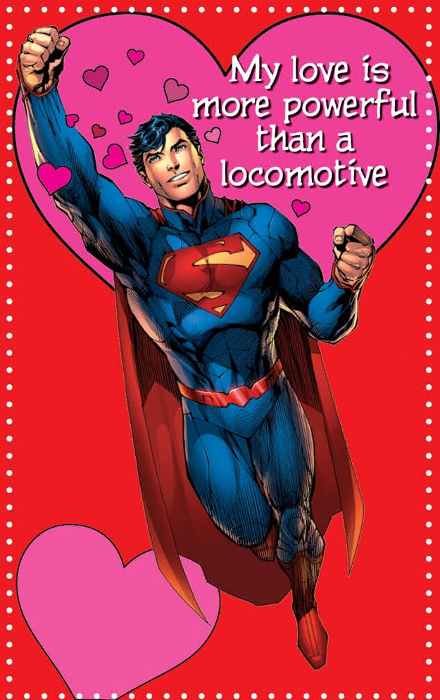 18 punny valentine's day cards from dc comics, Ideas