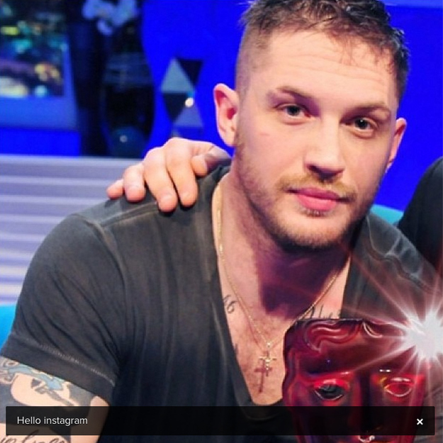 Tom Hardy Joins Instag...