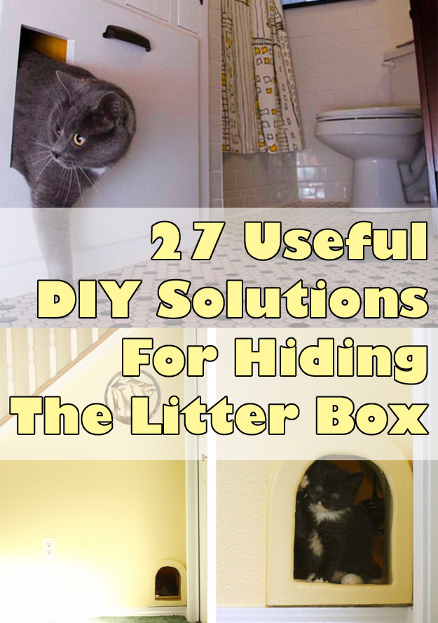 how to build a litter box enclosure 1