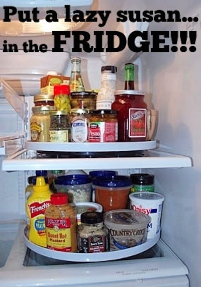 Make everything in your fridge organized and easily accessible.