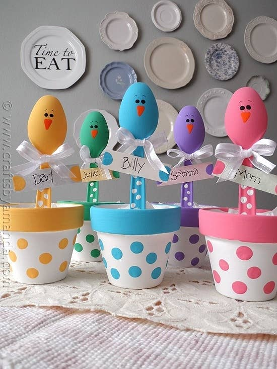10 quirky gift ideas for easter easter chick place holders negle Choice Image