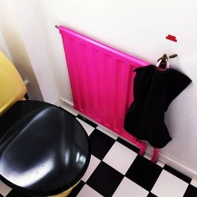 3 paint the radiator a crazy color