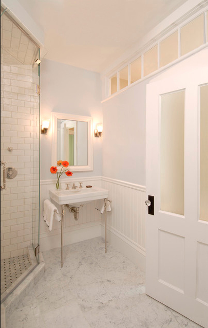 Add Windows To A Windowless Bathroom, Even If Theyu0027re Not To The Outside  World.
