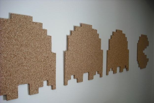 16. Pac-Man Corkboard