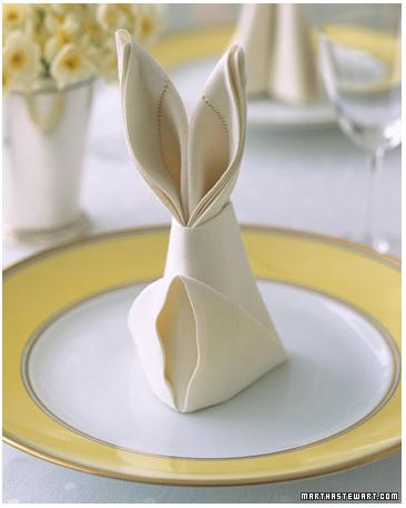 Or master the bunny napkin fold.