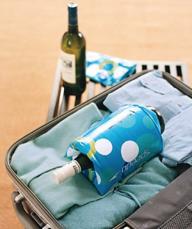What, you don't travel with two bottles of wine in your suitcase? AMATEUR.