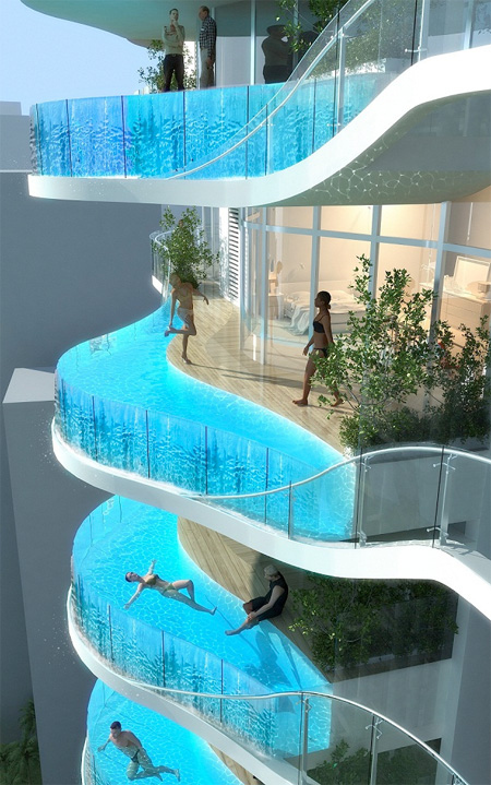 Or Better Yet, a Balcony Pool