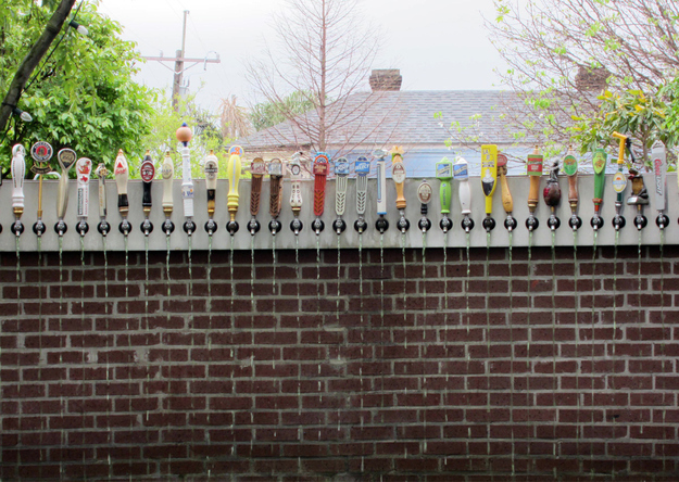 A Yard Beer Dispenser