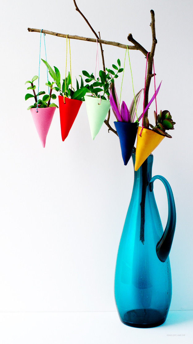 Colorful Hanging Garden