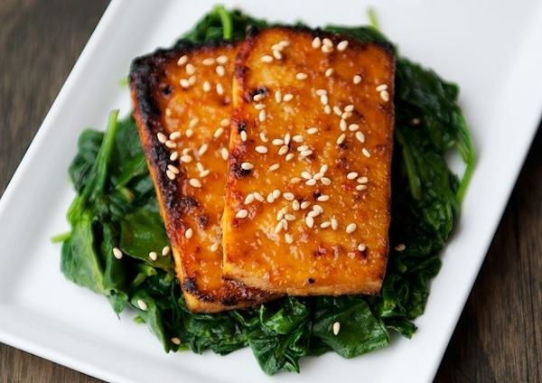 Maple Miso Tofu
