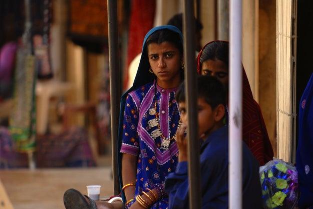 3. Children in Jaisalmer, India.