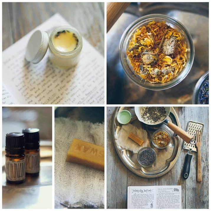 Este bálsamo labial natural sólo necesita tres ingredientes: hierbas, miel de abejas y aceites esenciales. Conoce cómo hacerlo aquí.