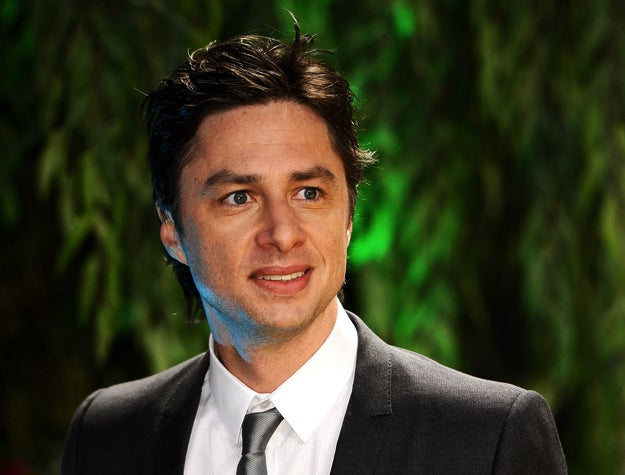 Actor Zach Braff attends the London premiere of Oz the Great and Powerful on Feb. 28, 2013.