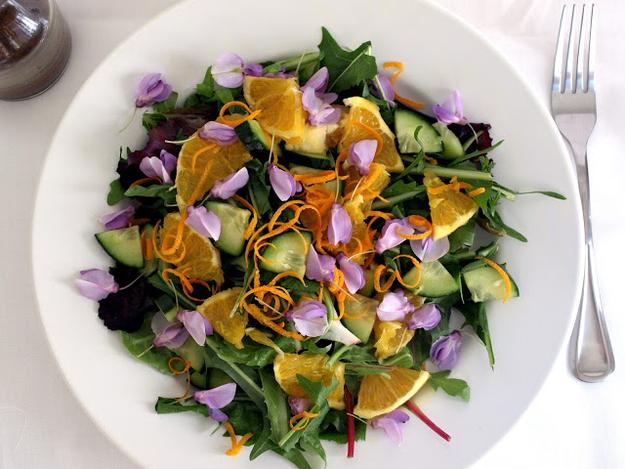 Салат цветочек с фото