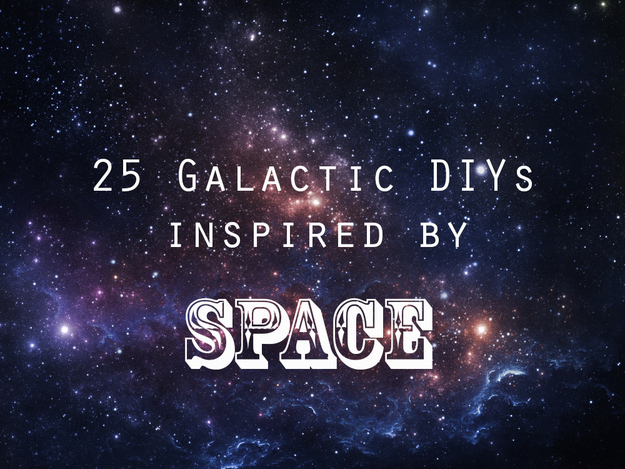 25 galactic diys inspired by outer space for Outer space room design