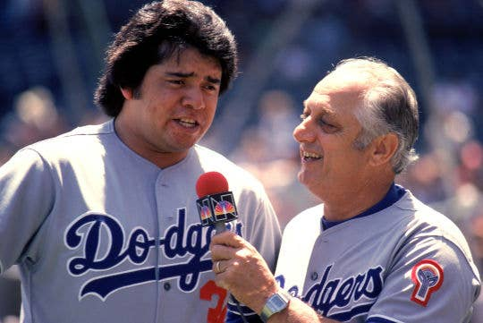 As a 20-year-old starting pitcher in 1981, Fernando Valenzuela helped lead the Los Angeles Dodgers to World Series championship, while racking up individual honors such as NL Cy Young, NL Rookie of the Year, and Silver Slugger. The mania even inspired some tribute songs, such as Ole Fernando.