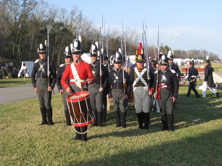 Every year, January 8th commemorates the Battle of New Orleans during the War of 1812. Re-enactments and the ceremonial wreath-laying take place in Jean Lafitte National Park and Preserves.
