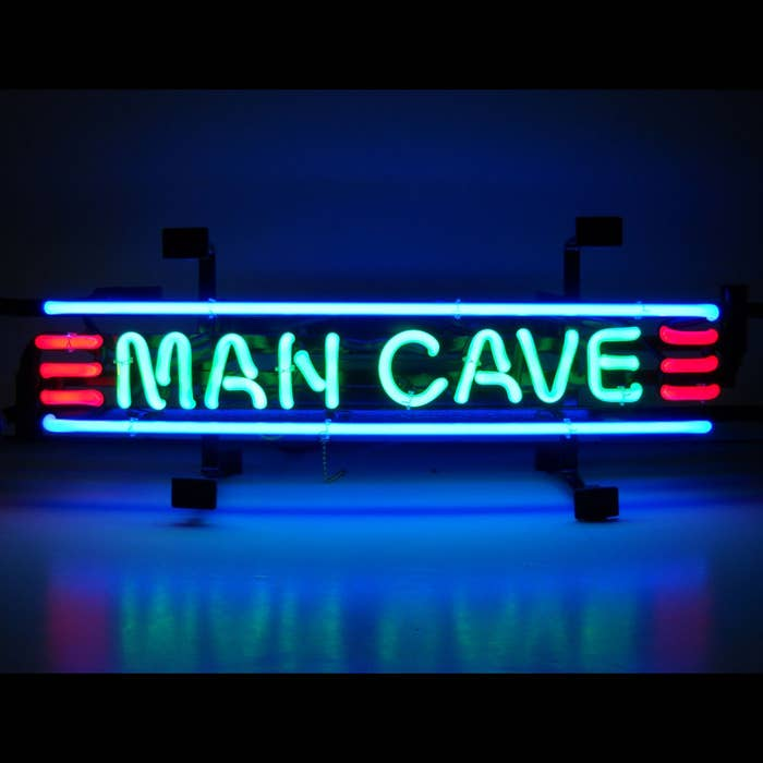 A Sign That Proclaims You Are Now Entering Man Cave