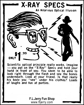 Perversion glasses.