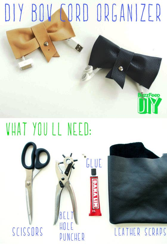 5 easy and adorable ways to organize your cords the next three projects were created by mette from monster circus first up this solutioingenieria Images