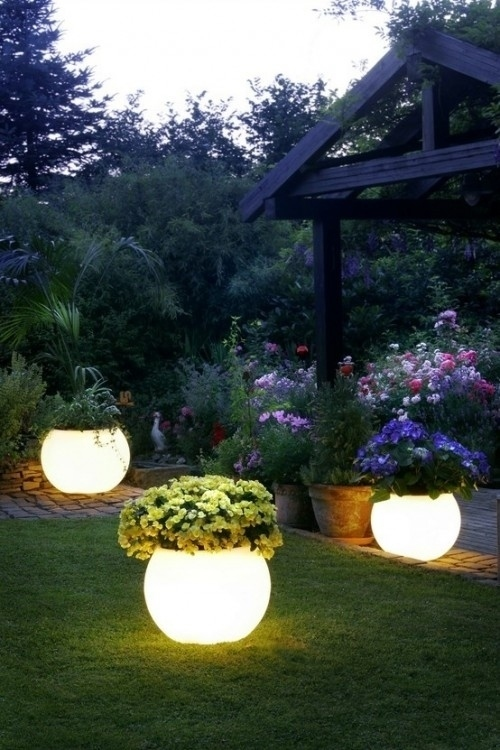 view this image backyard lighting ideas