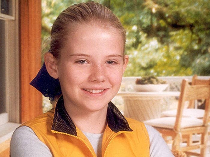 Elizabeth Smart before her kidnapping in 2002.