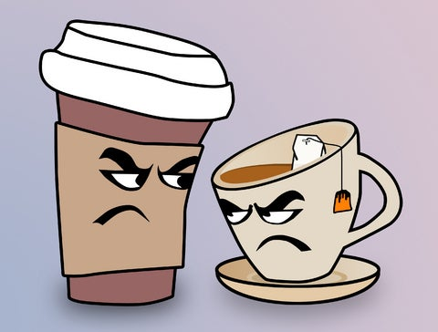 Image result for tea is better than coffee