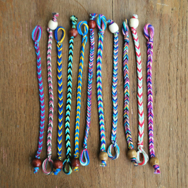 Summer Camp Style Friendship Bracelets