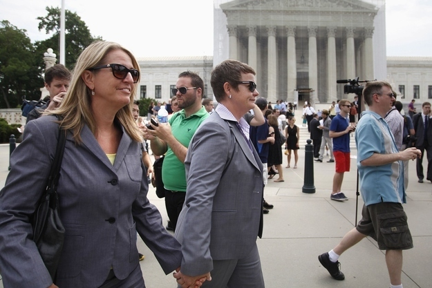 After Four Decades Of Fighting, Gay Couples Wait On The Cusp Of History