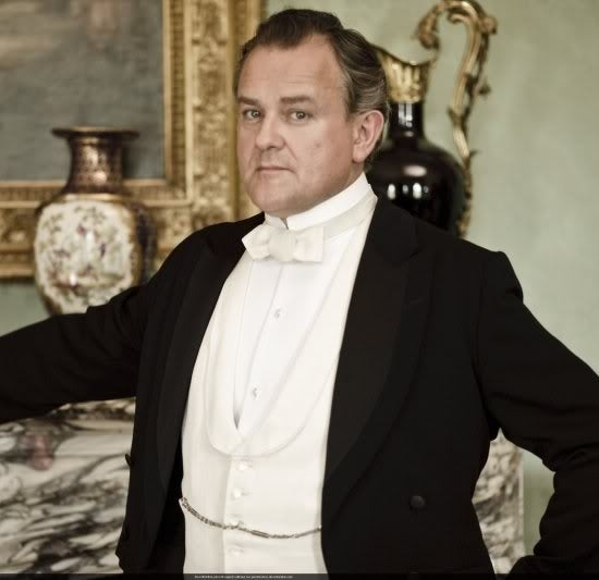 As Robert Crawley on Downton Abbey