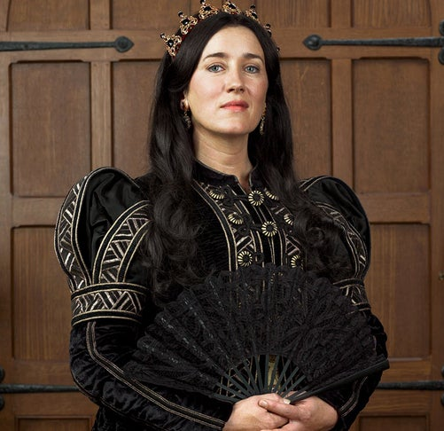 As Queen Catherine of Aragon on The Tudors