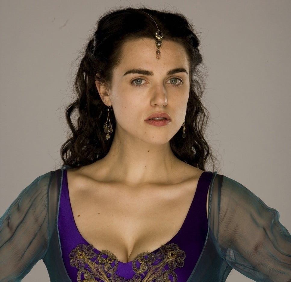 As Morgana on Merlin