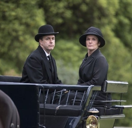 As Joseph Molesley on Downton Abbey