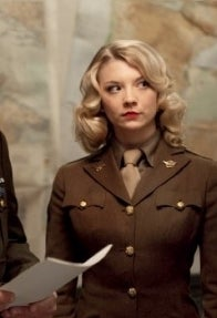 As Pvt. Lorraine in Captain America: The First Avenger