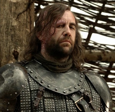 As Sandor 'The Hound' Clegane on Game of Thrones