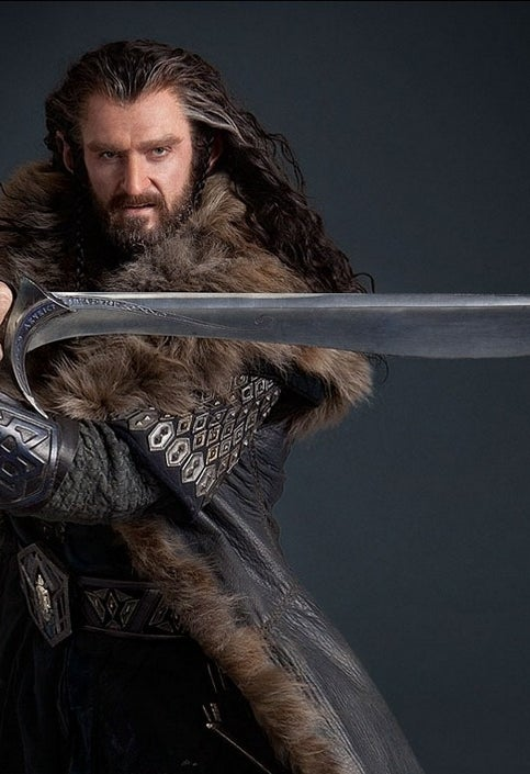 As Thorin Oakenshield in The Hobbit: An Unexpected Journey