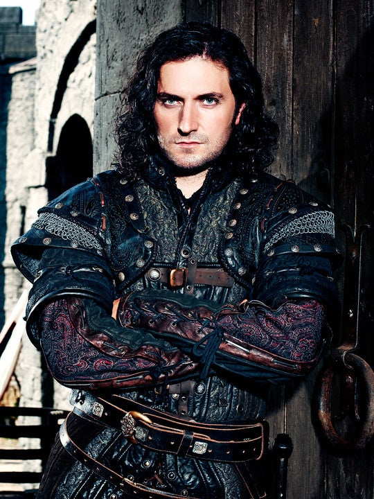 As Guy of Gisborne on Robin Hood