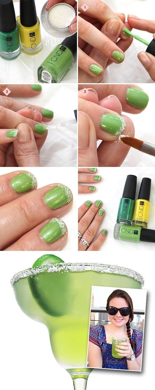 Get a margarita manicure.