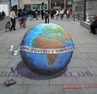 BrainMelting Works Of D Sidewalk Chalk Art - 17 amazing works of 3d street art