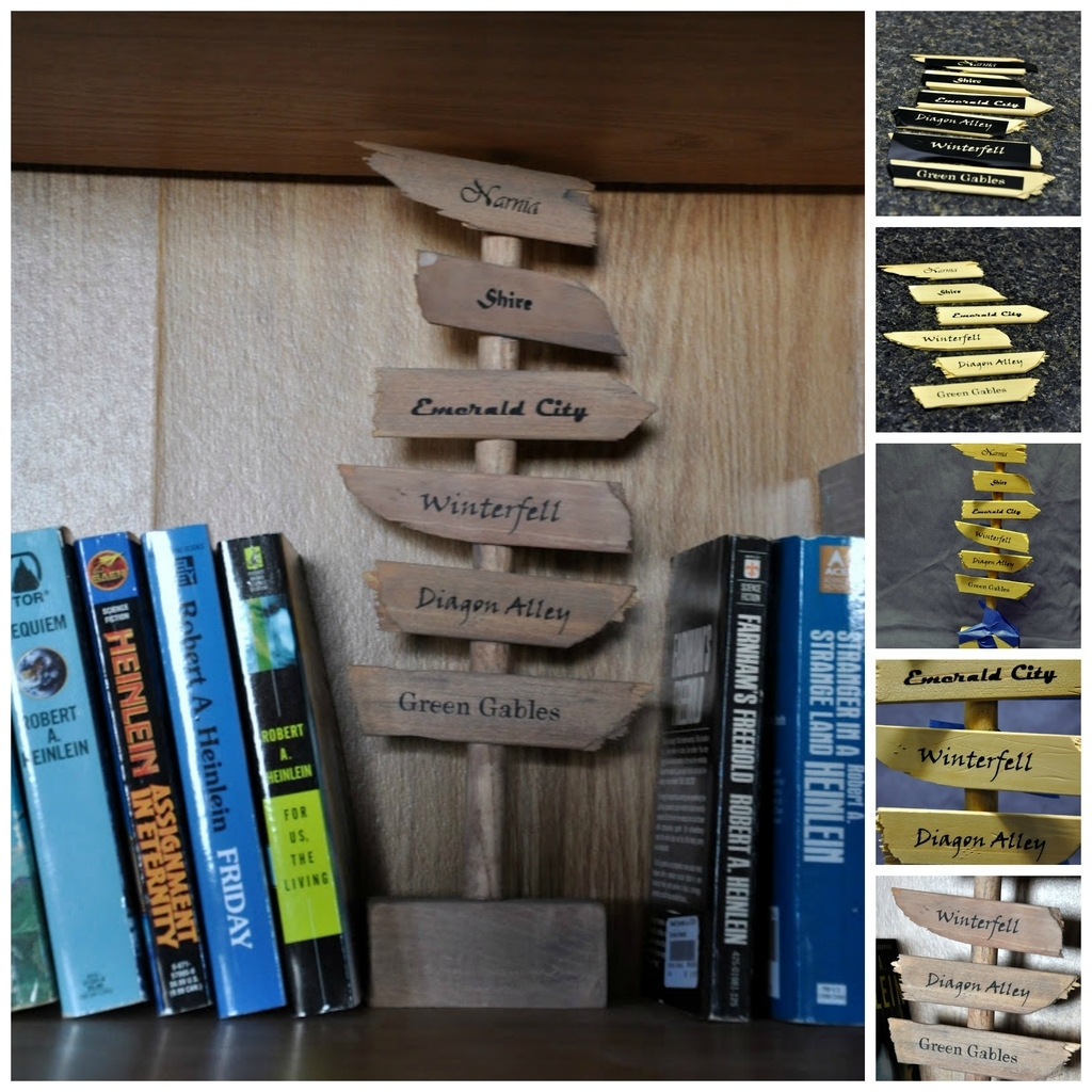 23 Lovely Diy Bookends To Adorn Your Shelves