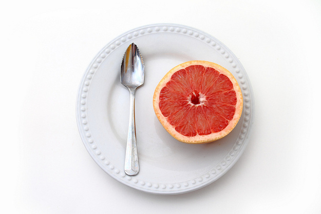 Grapefruit can cause dangerous reactions with some prescription medications.