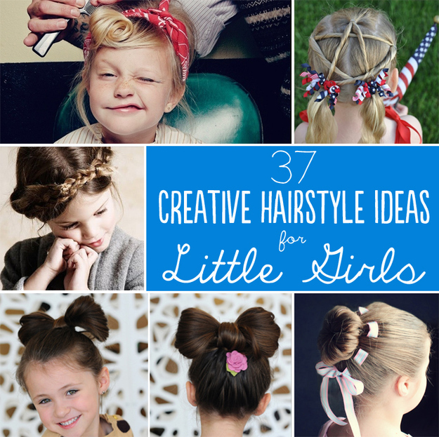 Astonishing 37 Creative Hairstyle Ideas For Little Girls Short Hairstyles Gunalazisus