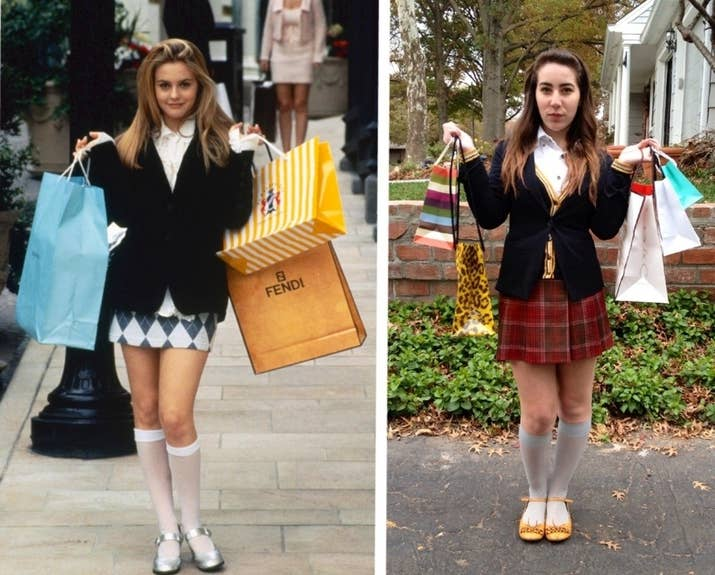 16 diy costumes based on your favorite 90s movie character 2 clueless cher solutioingenieria Image collections