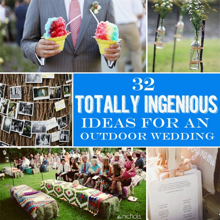 32 totally ingenious ideas for an outdoor wedding share on facebook share junglespirit Image collections