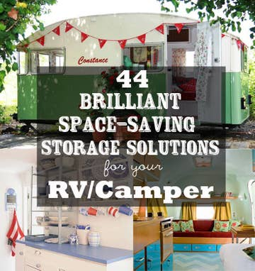44 Cheap And Easy Ways To Organize Your Rvcamper
