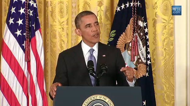 Obama Opposes Olympics Boycott