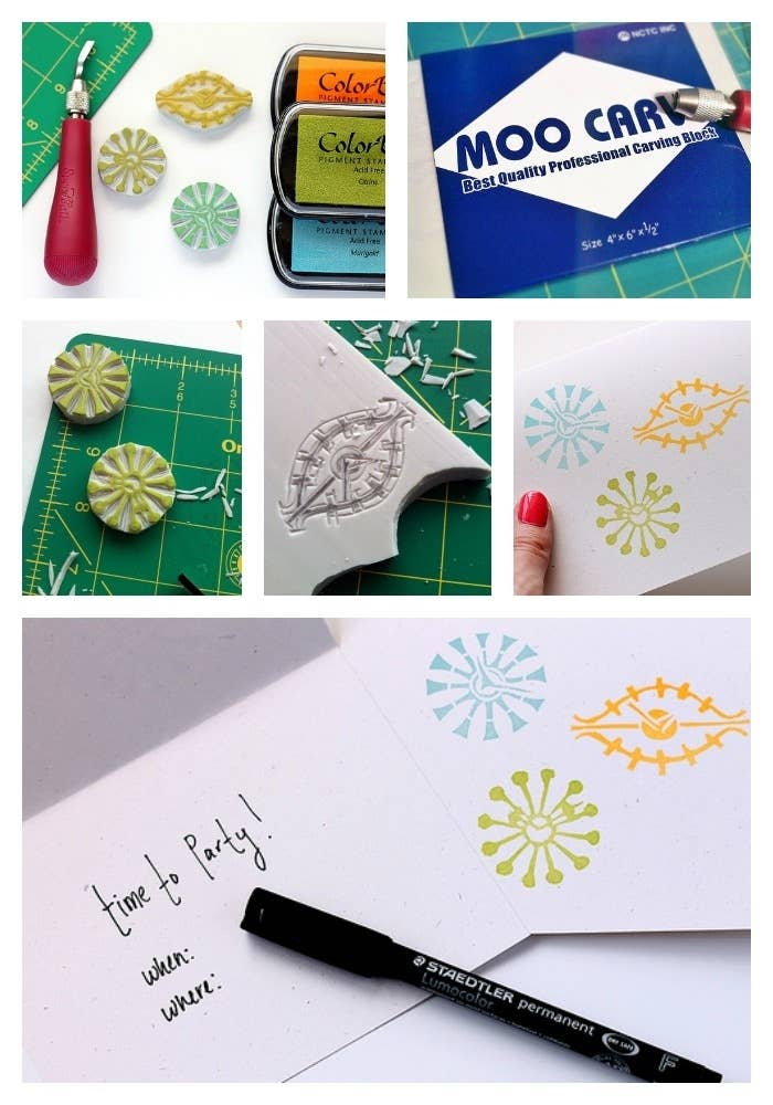 30 Adorable And Unexpected DIY Stamp Projects