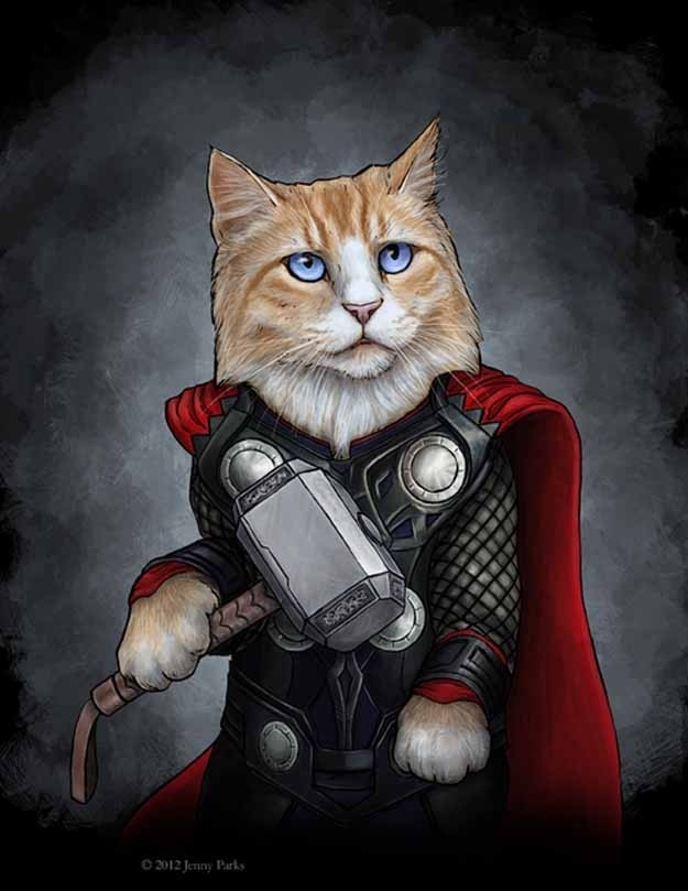"""Catvengers"" Will Save The World With The Power Of Cuteness"